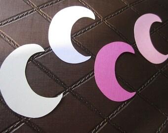 Die Cut Embellishment Multi Use Half - Crescent Moon