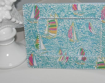 YOU GOTTA REGATTA Boats Nautical pattern inspired by Lilly made by Mama Duck Creations