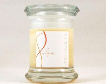 2 oz  Very Vanilla Soy Jar Candle