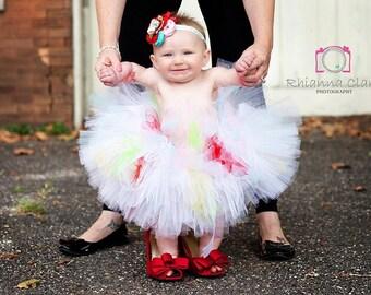 Color Splash Tutu, Newborn Tutu, Baby Tutu, Tutus for children, Flower Girl tutu, 1st birthday tutus, birthday tutu, mommy and me tutus