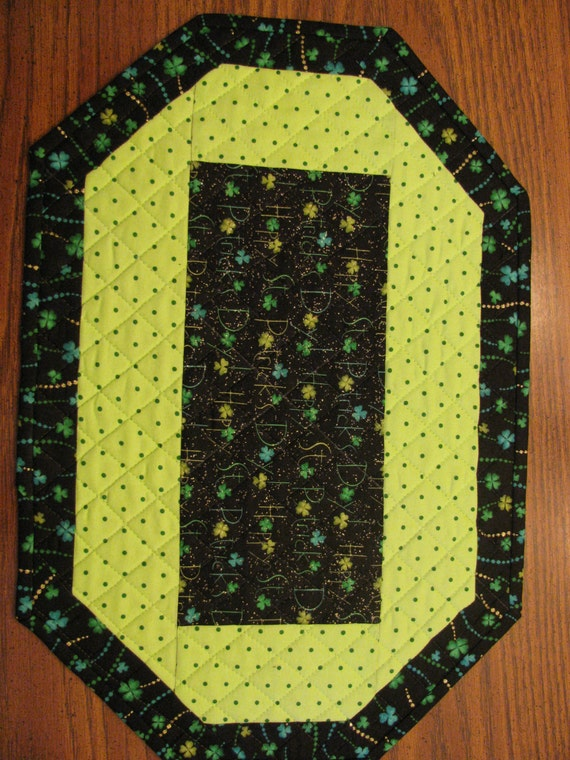 st patrick 39 s day placemats set of 4 by mamawscraftroom on etsy