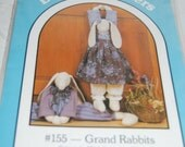 "Rabbits Draft Stopper Pattern No 155 ""Grand Rabbits""  30 Inch Rabbit  Epsteam"