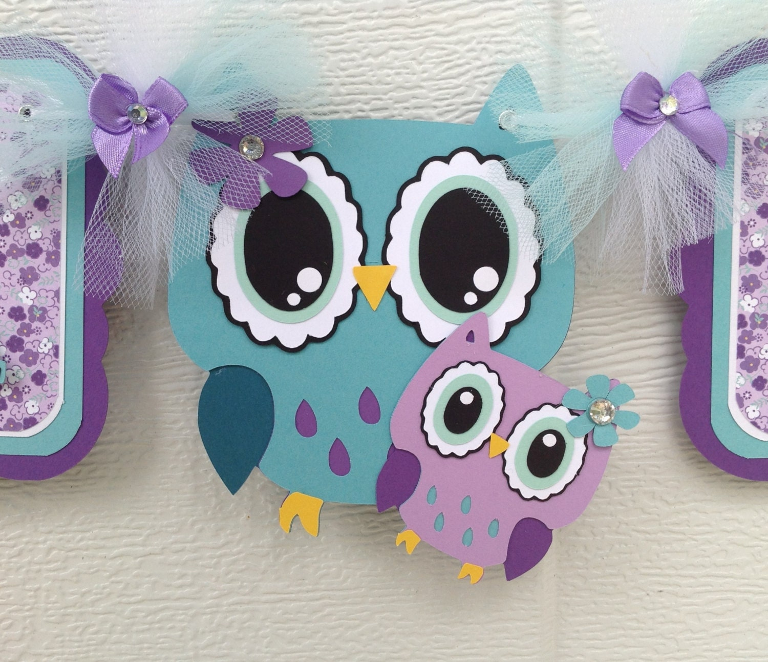 Owl Baby Shower Supplies: Owl Baby Shower Baby Shower Banner Owl Banner Owl Baby