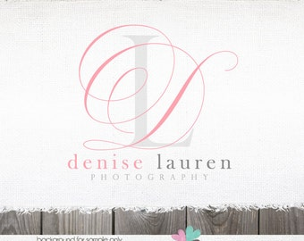 Initial Logo Premade Logo Photography Logos and watermarks premade logo blog logo photographer logo premade logo design logo photography