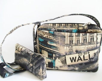 Shoulder Bag, Crossbody Messenger Bag, Travel Handbag, Street Purse and Coin Pouch Set