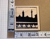 Rubber Stamp - Stampington - Camel Travels