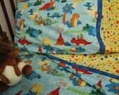 Dinosaurs Toddler bedding crib sheet set 3 pc. dinosaur nursry custom