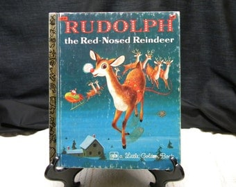 Rudolph the Red Nosed Reindeer, 1981, a little golden book