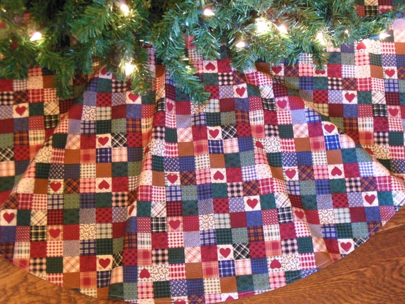 On sale christmas tree skirt primitive farmhouse