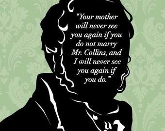 mr darcys proposal to elizabeth in the novel pride and prejudice by charlotte bronte Jane austen began her second novel, pride and prejudice,  scenes such as mr collins proposal to elizabeth,  the marriage between mr collins and charlotte is.