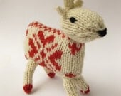 Knitting Kit - Knit your own Reindeer - Cupid