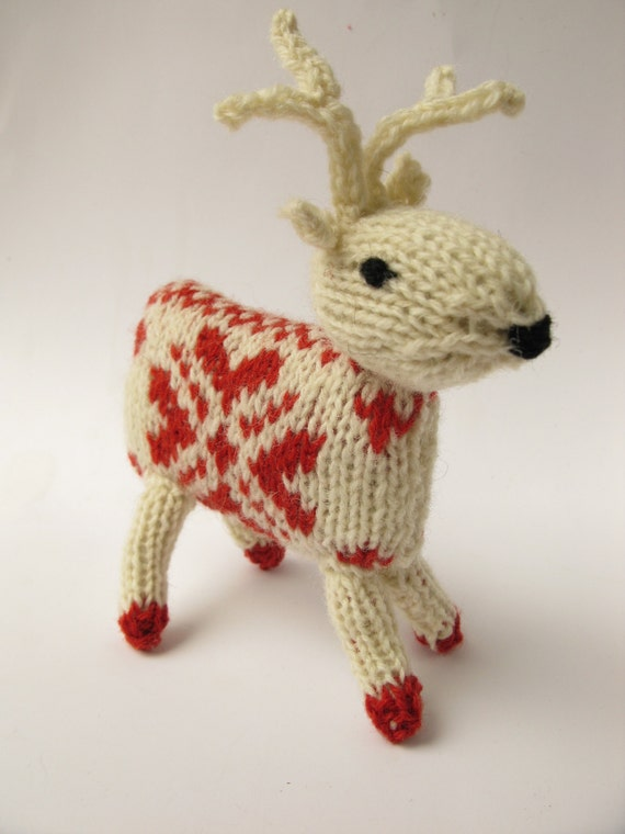 Knitting Kit Knit your own Reindeer Cupid