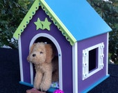 Can ship for Chrsitmas. American Girl Doll  dog house for pets: McKenna Cooper