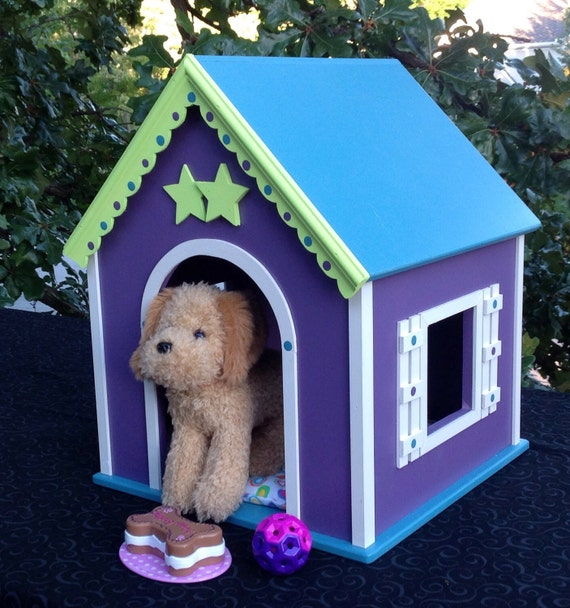 American Girl Doll  dog house for pets: McKenna Cooper