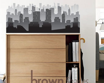 Fog City Peel and Stick Removable Wall Decal