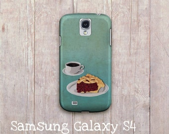Coffee and pie  Samsung Galaxy case,  Samsung Galaxy s3, Samsung Galaxy S4,  samsung galaxy s3, Samsung Galaxy sIII