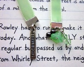 I love Books ribbon bookmark.