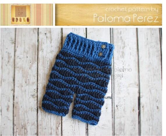 INSTANT DOWNLOAD Crochet Baby Pants Pattern Crochet by ...