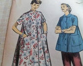 No. 7716 Size 14 Advance 1950's -Misses' Duster or Smock - Housecoat
