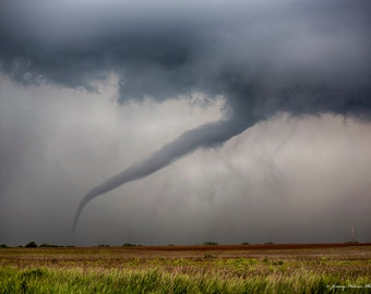 Fine Art print of a Tornado in Kansas on 5-19-13