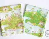 Fat Quarter Bundle Briar Rose Frog Pond, 2 Pieces, Heather Ross, Windham Fabrics, 100% Cotton Fabric, 37022