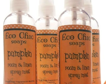 Room Spray - Pumpkin Spray - Room and Linen Spray Mist