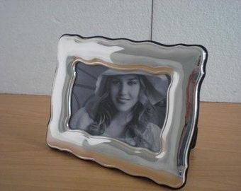 Handmade Sterling Silver Photo Picture Frame 1001 9x13 GB new