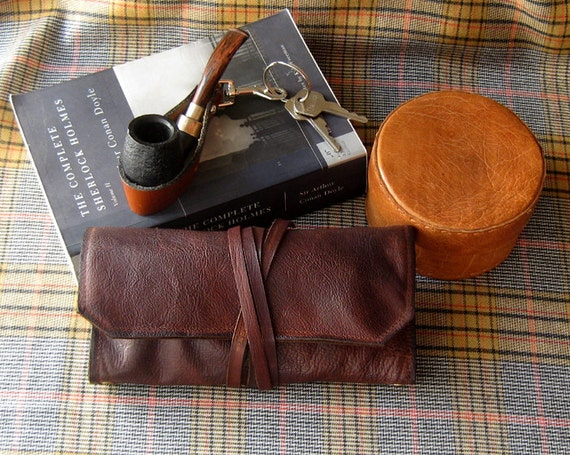 Leather Pipe Pouch