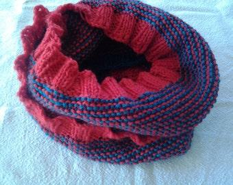 Hand Knitting pattern Cowl PDF