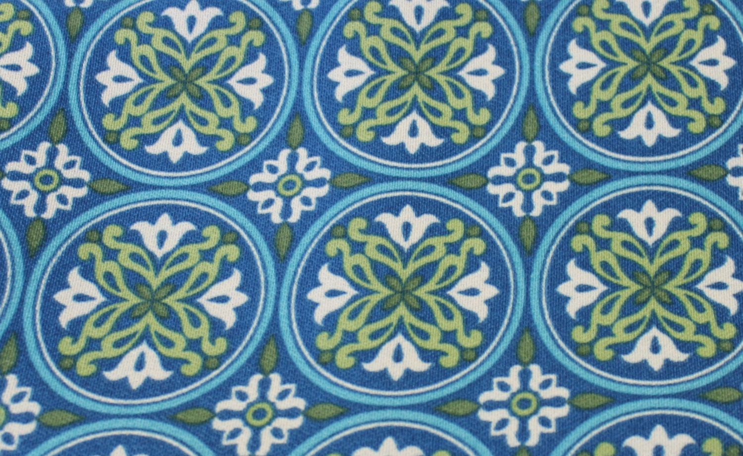 Upholstery Fabric Home Decor Fabric Blue Medallion