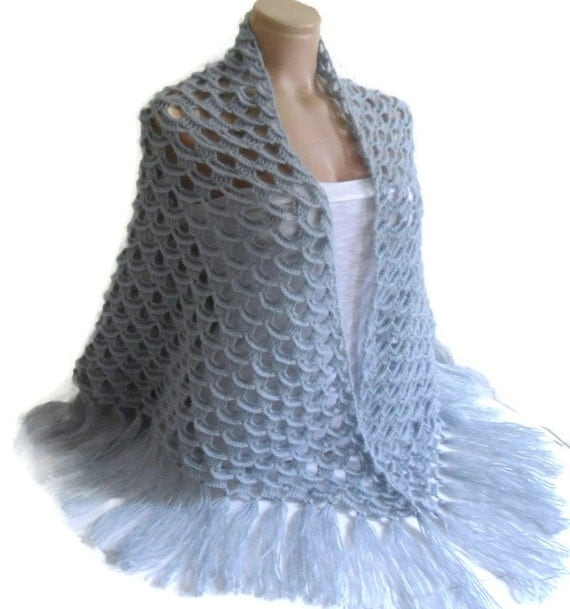 Crochet Wedding Gifts Patterns: Items Similar To Crochet Shawl, Bridal Shawl, Weddings