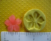 HAWAIIAN tropical FLOWER hibiscus mold flexible silicone for fondant cake decorations resin candy wax or hard polymer clay mold