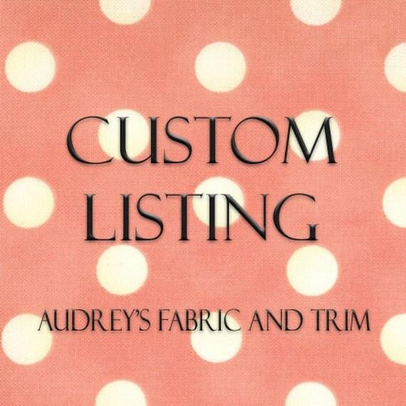 Custom Listing for Jenna - Fabric King of the Ranch by Sara Khammash for Moda Fabrics in Buckskin 11216 14 - quilting fabric - cotton fabric