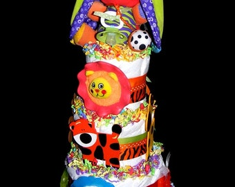 Little Jungle Diaper Cake