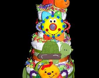Baby Bugs Diaper Cake