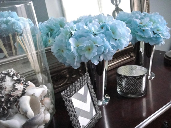 Items similar to hydrangea centerpieces home decor easter