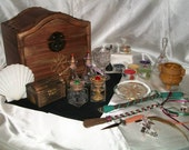 Pagan Altar Set  - Custom Crafted to your Specifications - Handcrafted, Embellished Tools  this example: Norse Theme
