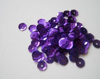 Purple Sequins - Large Lot