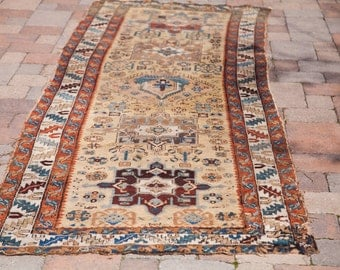 3x11 Antique Persian Rug Runner