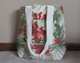 SALE  Beautiful Floral Tote