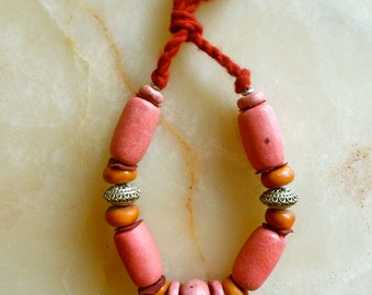 Moroccan jewelry - berber style necklace - ethnic necklace - moroccan art
