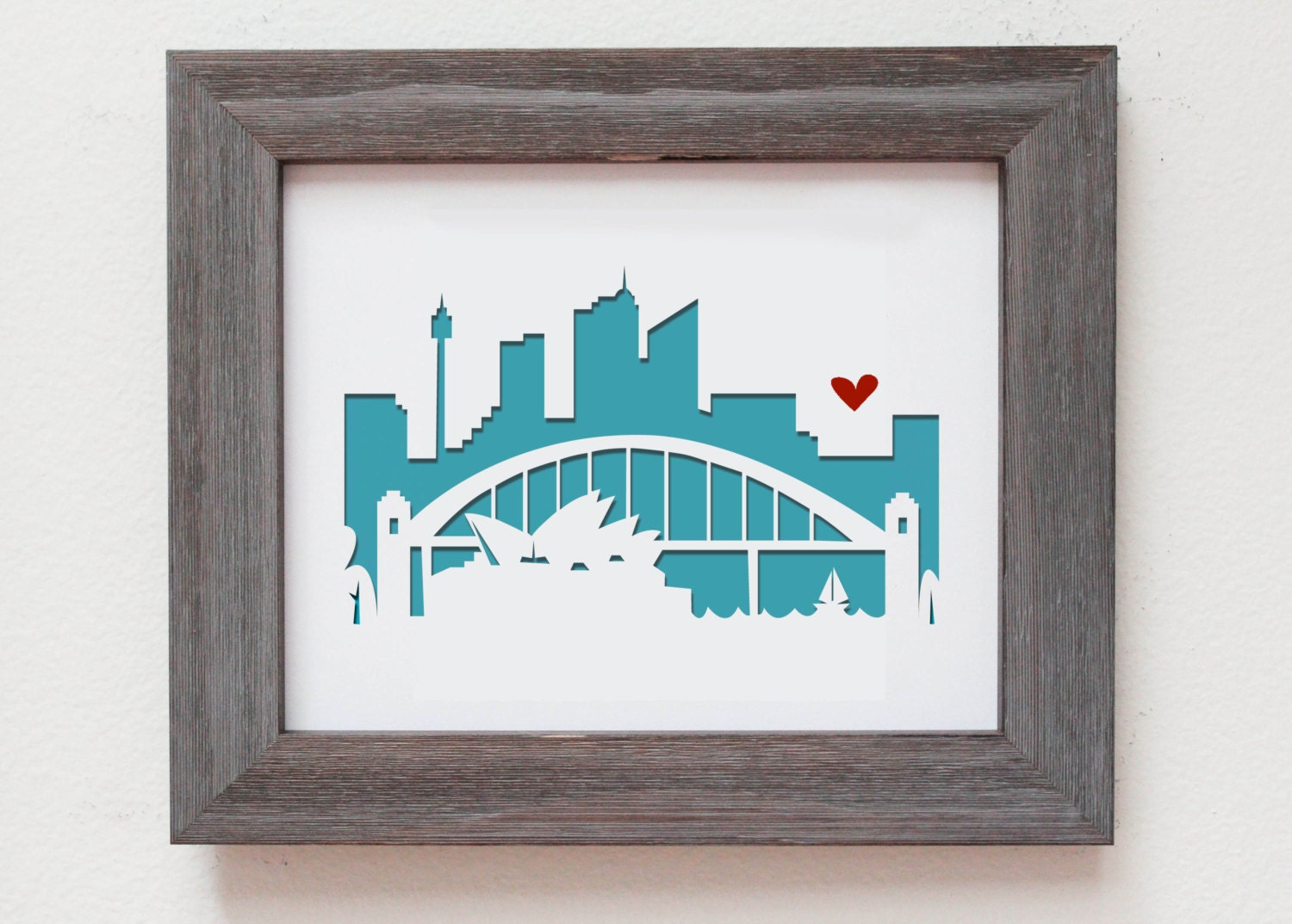 Wedding Gift Ideas Australia: Sydney Australia. Personalized Gift Or Wedding Gift