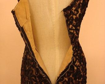 Femme fatale lace party dress