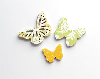 Colorful Butterfly Die Cuts - Assorted Summer Table Decor - Birthday Party Confetti