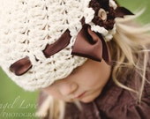 CROCHET PATTERN Cluster Stitch Hat (5 sizes included from newborn-adult) Instant Download