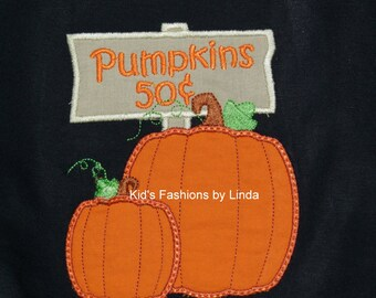 Pumpkins for Sale Black T-Shirt -Great For Pumpkin Patch