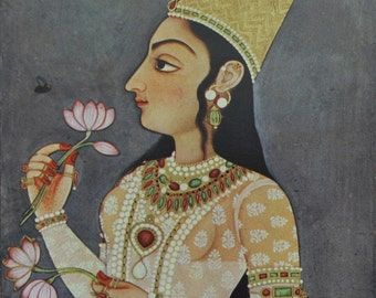 Mughal Indian Princess