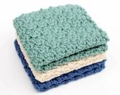Crochet Pattern Washcloth, Dishcloth, Facecloth