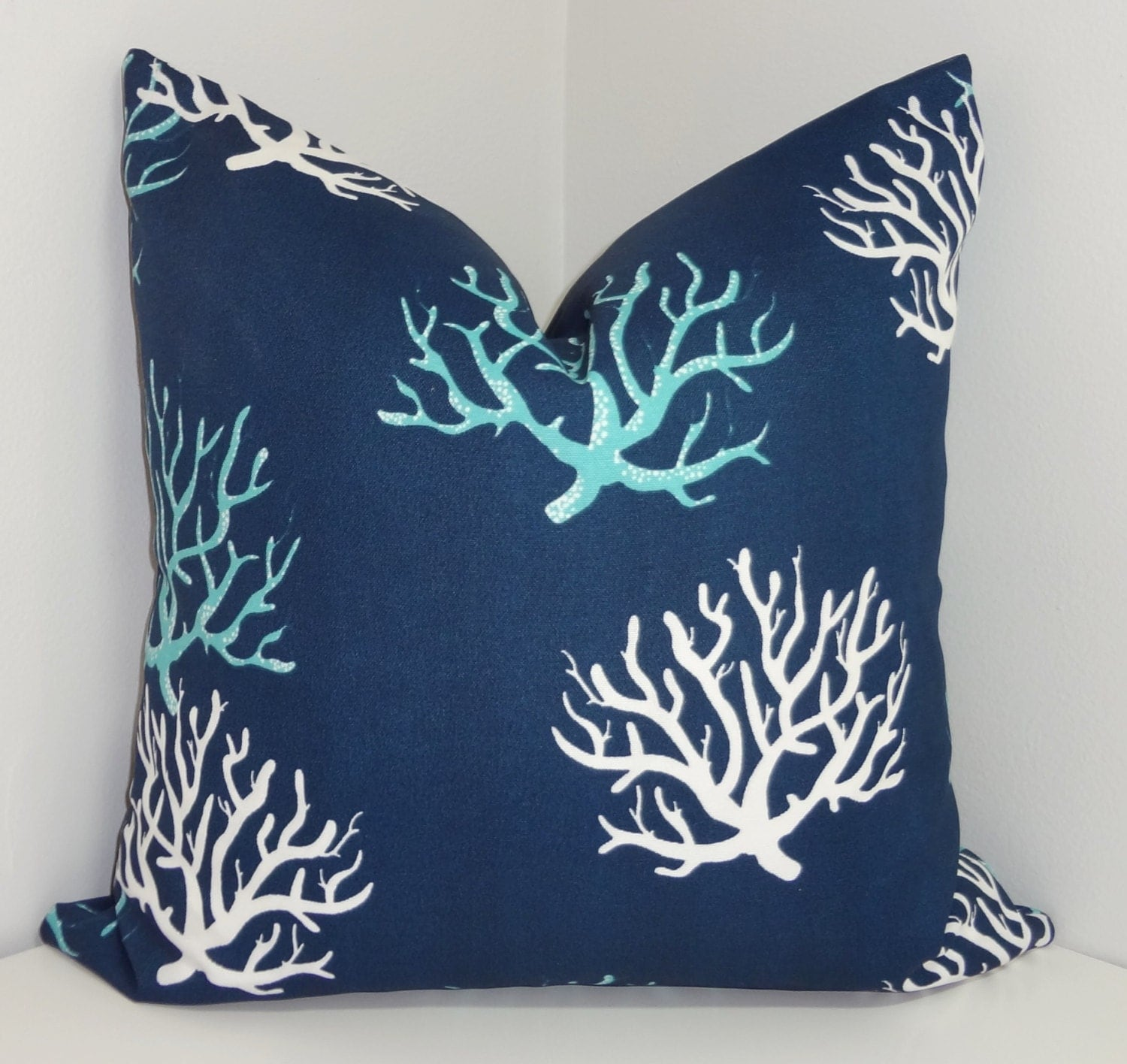 covers pillow blue allergy for home and pillows navy coral cushion throw gallery blanket