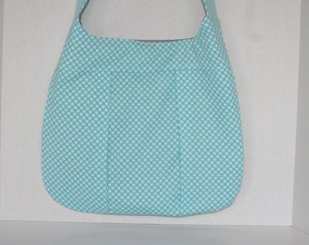 SALE--Everyday Polka Dot Pleated Purse Handbag